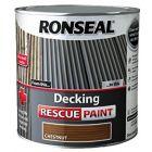 Ronseal Decking Rescue Paint Chestnut 5L - 37616