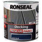Ronseal Decking Rescue Paint Deep Blue 2.5L - 37452