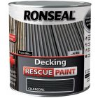 Ronseal Decking Rescue Paint Charcoal 5L - 37617