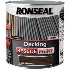 Ronseal Decking Rescue Paint English Oak 5L - 37615
