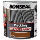Ronseal Decking Rescue Paint Maple 2.5L - 37448
