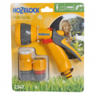 Hozelock Multi Pattern Spray Gun Starter Set With Fittings 2347