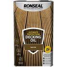 Ronseal Ultimate Protection Decking Oil 5 Litres Dark Oak
