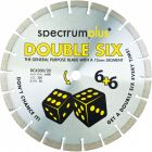 Spectrum DCX300/20 Double Six Plus General Purpose 300mm Diamond Blade