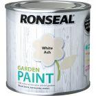 Ronseal Garden Paint-250ml-White Ash