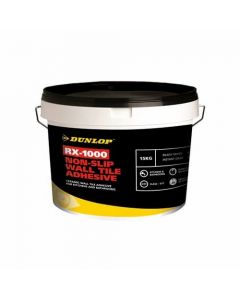 Dunlop RX-1000 Non Slip Wall Tile Adhesive 15kg - 32322
