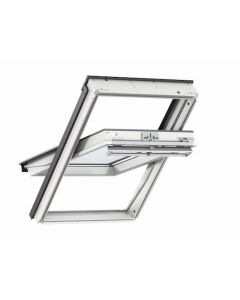 Velux GGU SK06 0070 Centre Pivot Roof Window White PU 114x118cm