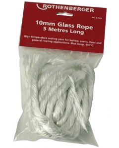 Rothenberger 6.7076 Glass Rope 10mm x 5 mtrs
