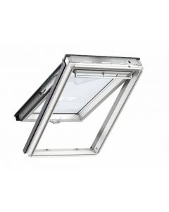 Velux GPL UK04 2070 Top Hung Roof Window White Painted 134x98cm