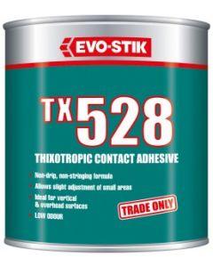 Evo Stik TX528 Thiotropic Contact Adhesive Tin 1L - 657502