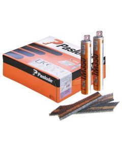 Paslode IM350 Nail Fuel Pack 90mmx3.1mm STR 2200 + Fuel 141233