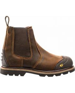 Buckler Boot Dark Brown