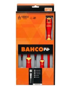 Bahco 5 Piece VDE Screwdriver Set