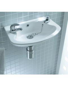 Lecico Atlas 1811 Cloakroom Basin 455x285mm 2 Th White Aswh18Ba