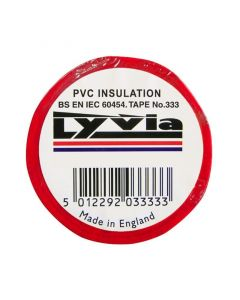 Jegs PVC Insulation Tape JG003RD-Red
