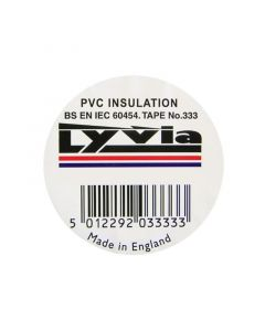 Jegs PVC Insulation Tape JG003WH-White