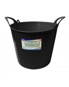 26L Rhino Flexi Tub Black