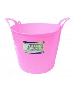 26L Rhino Flexi Tub Pink