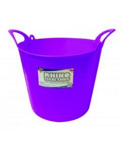 26L Rhino Flexi Tub Purple