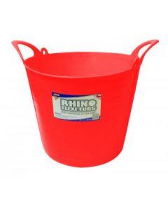 26L Rhino Flexi Tub Red