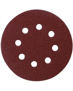 Makita Velcro-Backed Sanding Disc 125mm 120 Grit P-43577