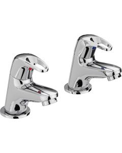 Bristan Cadet Bath Taps Chrome CAD 3/4 C