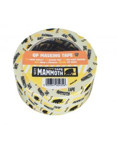 Mammoth General Purpose Masking Tape 38mmx50m 2maskval38