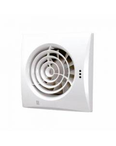 HIB Hush Fan White Finish with Timer & Humidity Sensor