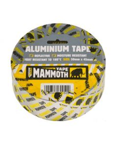 Everbuild Mammoth Aluminium Tape 50mm Wide 45 Meter Lth