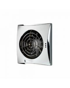 HIB Hush Fan Chrome Finish with Safety Extra Low Voltage motor