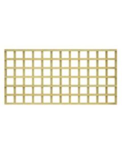 "Square Trellis 4"" 1828x914mm Treated"