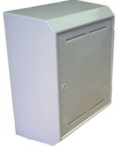Gas Meter Box White Surface Mounted SBgas/Snnb3