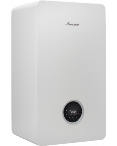 Worcester Greenstar 8000 Life Combi Boiler 40kW Natural Gas, White - 7738100802