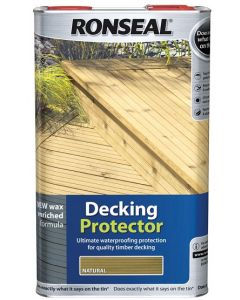 Ronseal Decking Protector Natural 5L - 36434