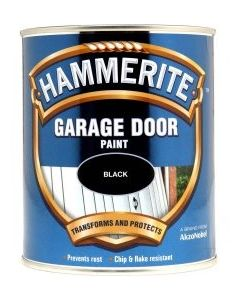Hammerite Garage Door Paint Black 750ml