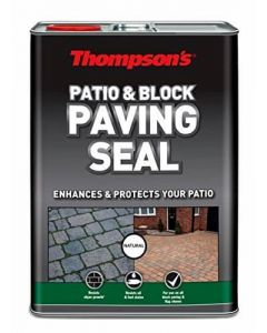 Thompsons Patio & Block Paving Seal Natural Finish 5L
