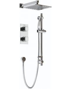 Bristan Cobalt Recessed Dual Control Shower Pack - COBALTSHWRPK2