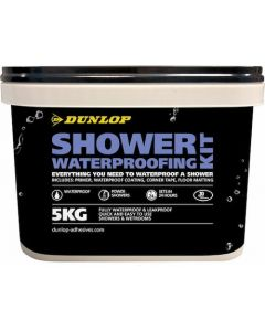 Dunlop Shower Waterproofing Kit 5kg 19038