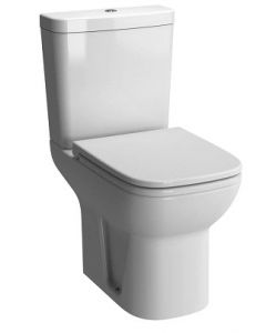 Vitra S20 Close Coupled WC (Shrouded Open Back Pan, & Cistern - Seat Not Included) - 5513+5514