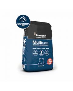 Hanson Tough Bag Multicem Cement - 25kg