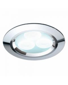 HIB LED Showerlight Chrome Finish Cool White LED