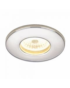 HIB Infuse LED Fire -Rated Showerlight Chrome Finish Cool White LED