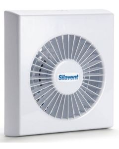 Polypipe Silavent 100mm Axial Fan With Shutters - SVC100B