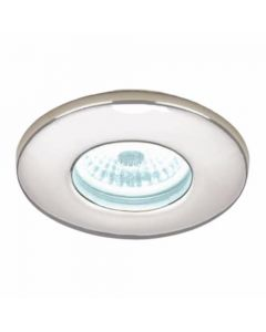 HIB LED Fire-Rated Showerlights Chrome Finish with Cool White LED
