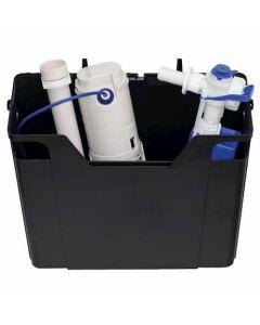 Fluidmaster Compact Pre-Assembled Concealed Cistern including 747UK Fill Valve (Plastic Shank) - CN12200C