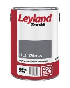 Leyland Trade High Gloss Paint 750ml Black