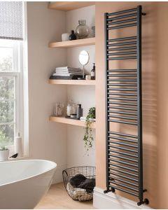 Straight Towel Rail Anthracite 800 x 500