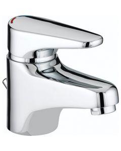 Bristan Jute Basin Mixer With Eco-Click & Puw Juebasc