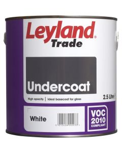 Leyland Undercoat Brilliant White 750ml