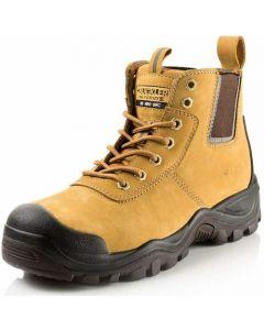 Buckler Anti Scruff Safety Work Boots Honey - BHYB2HY